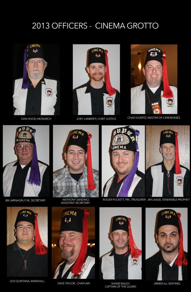2013 Officer Pics
