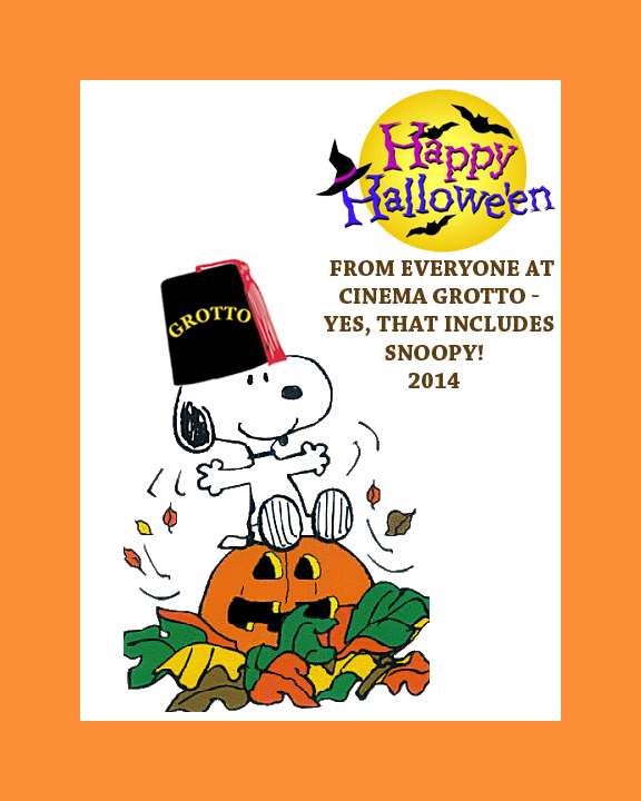 Snoopy Halloween Grotto